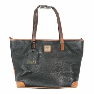 Dooney & Burke Black Leather Handbag